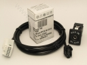 Adapter AUX Line In Kabel 5M0035724 + wtyczka AUX IN do VW, SKODA, GOLF TOURAN PASSAT RNS.