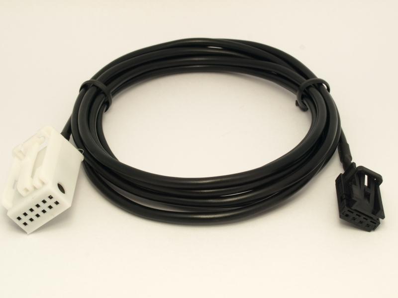 original vw skoda aux line in 5m0035724 adapter kabel golf. Black Bedroom Furniture Sets. Home Design Ideas