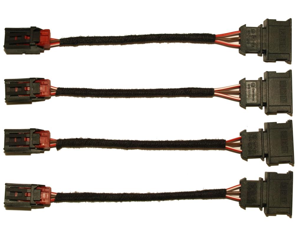 vw golf 6 vi led r ckleuchten adapter kabel leuchten. Black Bedroom Furniture Sets. Home Design Ideas